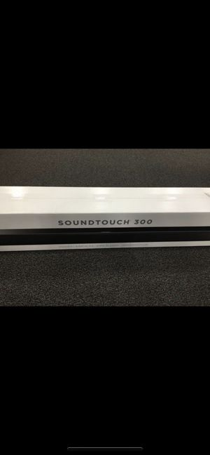 Bose Sound Touch 300 Soundbar for Sale in New York, NY