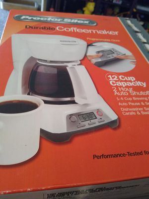 Proctor silex coffee maker BNIB for Sale in Hampton, VA