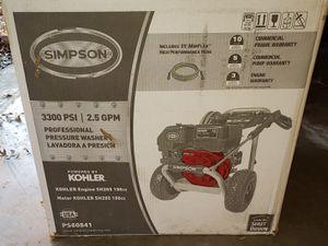 Simpson 3300psi pressure washer for Sale in Tulsa, OK