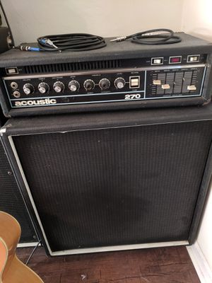 Acoustic 270 for Sale in Tallahassee, FL