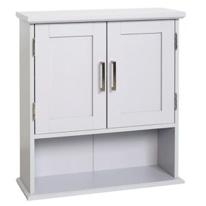 Shaker Style 23 in. W Wall Cabinet with Open Shelf in Dove Gray, New for Sale in Cleveland, OH