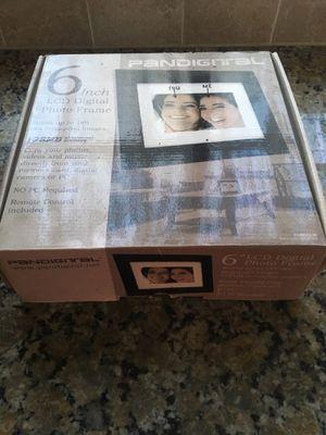 "Pandigital 6"" LCD Digital Photo Frame for Sale in Chelan, WA"