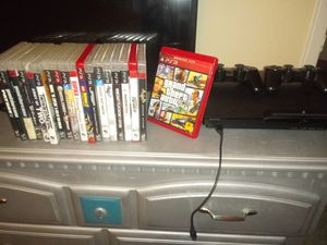 Ps3 with games n 2 remote controllers make me an offer for Sale in Benbrook, TX