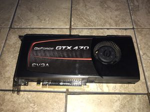 EVGA GeForce GTX 470 Superclocked for Sale in Madison, AL