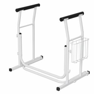 White Medical Free Standing Toilet Safety Frame (Part for Sale in West Covina, CA
