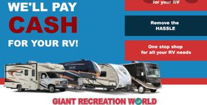 Rv and trailer buyer for Sale in Sacramento, CA