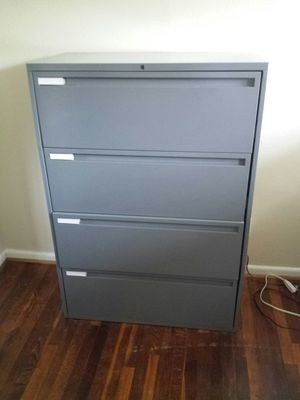 4 drawer lateral legal file cabinet for Sale in Norfolk, VA