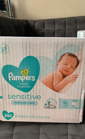Pampers sensitive wipes pop tops for Sale in San Diego, CA