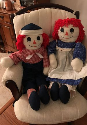 Big size Vintage Collectible Raggedy Ann & Andy. for Sale in Gainesville, VA