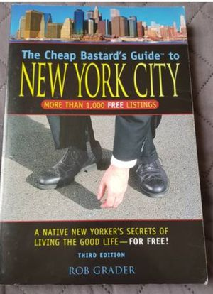 The cheap bastard's guide to NYC for Sale in Brooklyn, NY