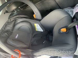 Chicco car seat, base, and skeleton stroller. Best offer for Sale in Trenton, NJ
