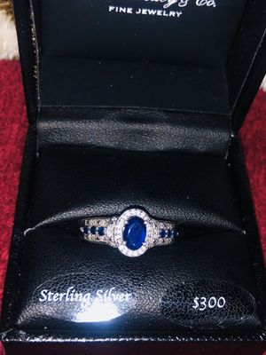 Sterling Silver & Sapphire Ring for Sale in San Jose, CA