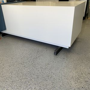 Custom White Table 96L x 39W x 34H for Sale in Irvine, CA