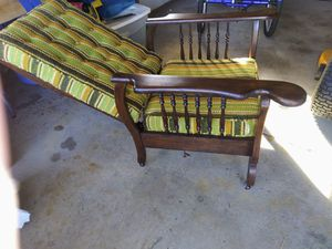 Old morris recliner wood chair. for Sale in Holland, MI