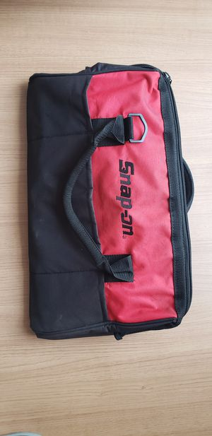 Snap-On Canvas Tool Carrying Storage Bag 18x11x8 for Sale in Claremont, CA
