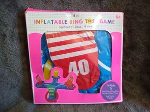 Inflatable Ring Toss Game for Kids for Sale in Boiling Springs, SC