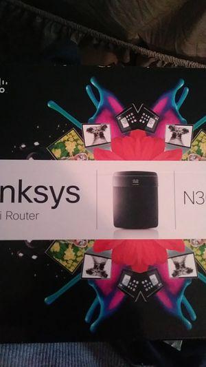 Lynksys n300 wifi router for Sale in Sanford, FL