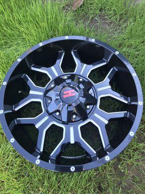 "20"" Havok wheels Jeep 5x4.5 and 5x5 bolt pattern 5x135 for Sale in Chula Vista, CA"