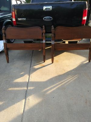 Two Twin Beds with side rails good condition. for Sale in Ellenwood, GA