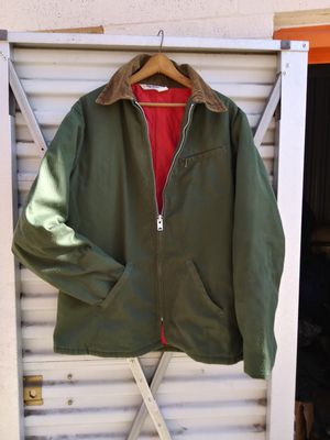 """Vintage insolate. Work jacket. """" key imperial. """" ziper talon. Size 42 for men's 1970's for Sale in Denver, CO"""