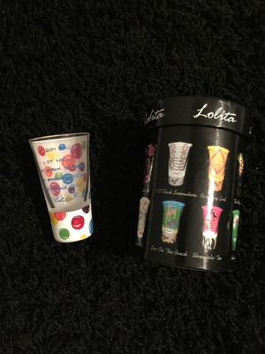 Hand painted shot glass by Lolita for Sale in Charlotte, NC
