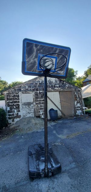 Free Basketball hoop curbside at Sumner St. Stoughton MA 02072 for Sale in Stoughton, MA