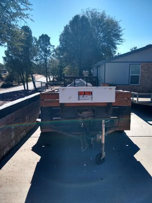 Quad or motorcycle trailer. 8 foot with Rear gate. $1300.00. Dennis {contact info removed} for Sale in Payson, AZ