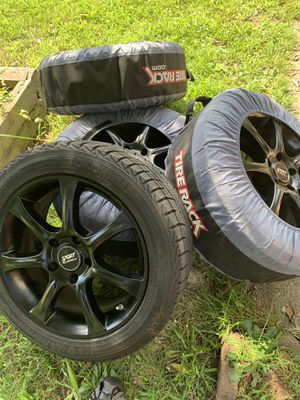 4 black original, rims 17 for Sale in Woodbridge, VA