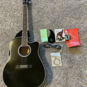 Acoustic Electric Cutaway Guitar for Sale in Hayward, CA