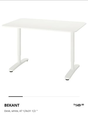 Adjustable Height Table for Sale in Chesapeake, VA