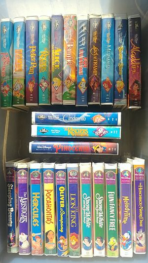 $150 Or best offer. Disney VHS Classics for Sale in Anaheim, CA