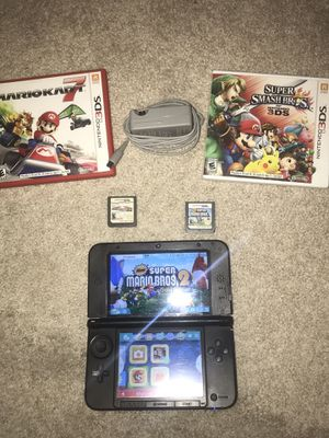 Nintendo Gold Super Mario Bros 3ds XL Limited Edition Console Tested & Working for Sale in Las Vegas, NV