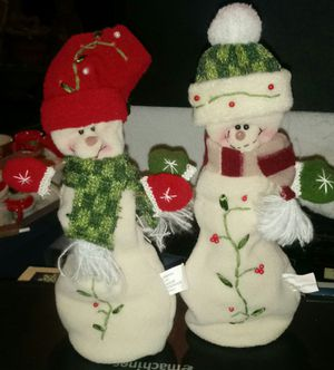Fabric Snowman Christmas Decor for Sale in Hannibal, MO