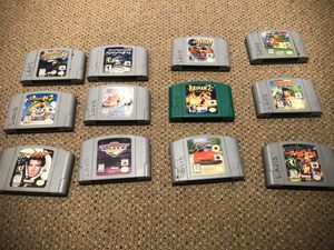 N64 Games for Sale in Seattle, WA
