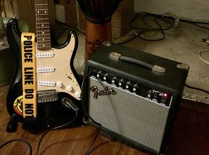 Fender electric guitar and amp package- everything you need to play today! for Sale in Pittsburgh, PA
