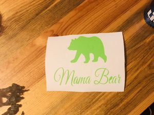 Mama bear decals for Sale in Packwood, IA