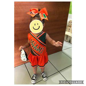 UM cheerleader dress for Sale in Miami, FL