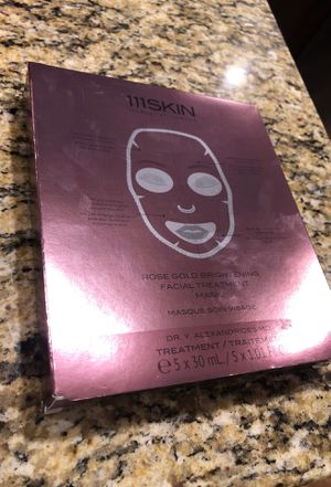111 Skin 24k Rose Gold Face Mask (5) Pack for Sale in Queen Creek, AZ