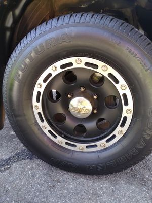 Rims and tires for toyota tacoma for Sale in Phillips Ranch, CA