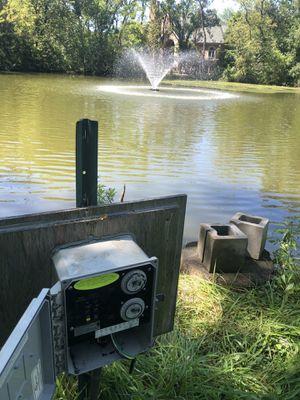 Lake Fountain 3/4 hp for Sale in Matteson, IL
