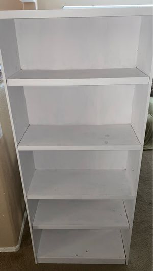 White bookcase for Sale in Surprise, AZ