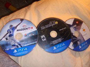 PS4 games for Sale in Granite Falls, WA