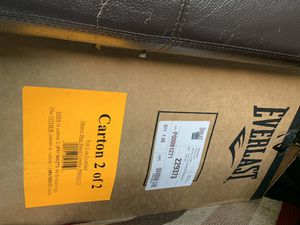 Everlast heavy bag for Sale in Elk Grove, CA