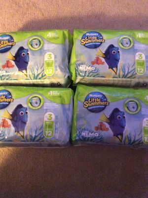 Huggies little swimmers - disposable swim pants for Sale in Parma, OH