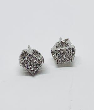 Sterling Silver 925 Men or Women Stud Earrings - Aretes de Plata de Hombre o Mujer for Sale in Houston, TX