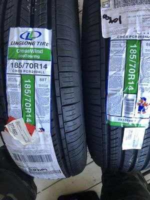 185 70 14 tires for Sale in Rancho Cucamonga, CA