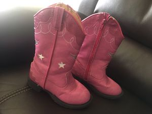 Boots light up size 9.5 toddler for Sale in Aspen Hill, MD