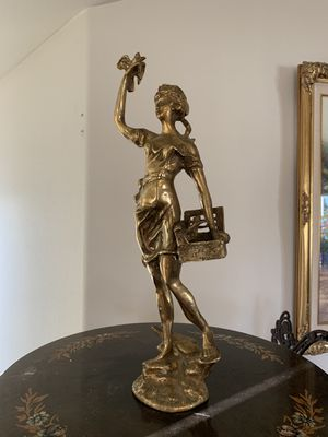Brass lady statue for Sale in Anchorage, AK