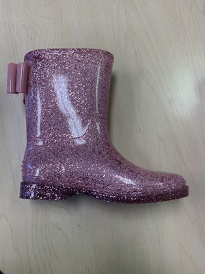 Rain boots for kids girls sizes 11,12,13,1,2,3 4 for Sale in Bell, CA