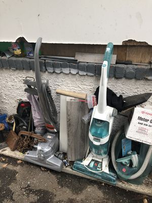 Kirby and a Hoover vacuums for Sale in Pasadena, CA